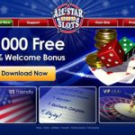 Allstarslots Welcome Bonus Package