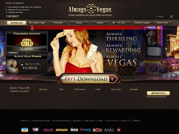 Alwaysvegas Poker Review