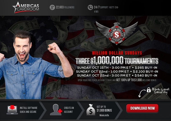 Americas Cardroom Promotional Code