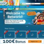 Betworld Join Bonus
