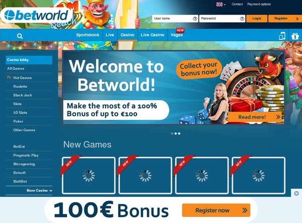 Betworld New Customer Promo