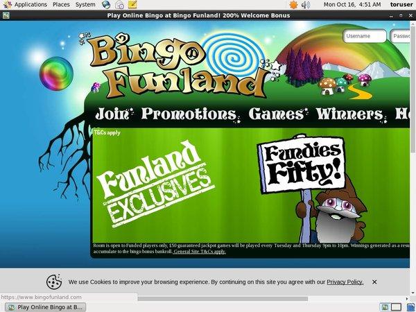 Bingofunland Paypal Bingo Sites