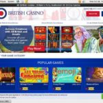 Bonus Code All British Casino