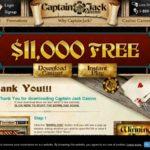Captain Jack Casino 100% Match