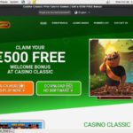 Casinoclassic Account Bonus