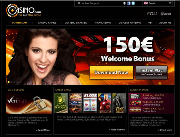Casino.com Slot Machines