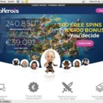 Casinoheroes Join Offer