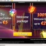Energy Casino Bonus Coupon