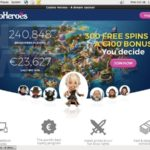 Free Casinoheroes Bet