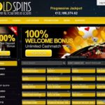 Goldspins Mobile Login