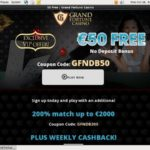 Grandfortune 100 Bonus