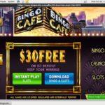 Login To Bingo Cafe