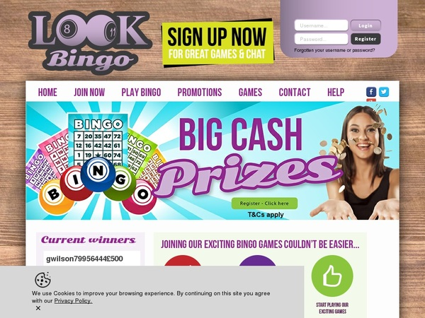 Lookbingo Get Free Spins