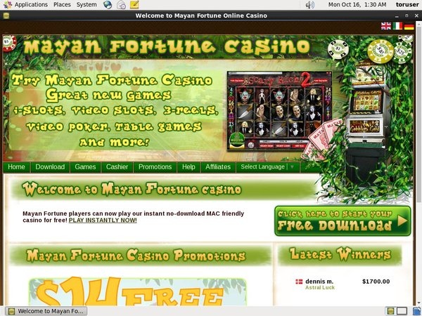 Mayanfortunecasino Limited Deal