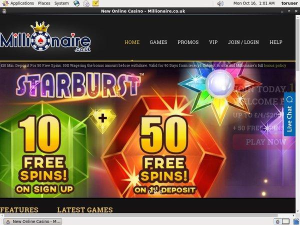 Millionaire Casino Spel Online