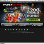 Moneygaming New Player Bonus