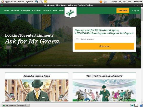 Mr Green Bonus Terms