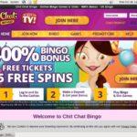 New Chit Chat Bingo Bonus