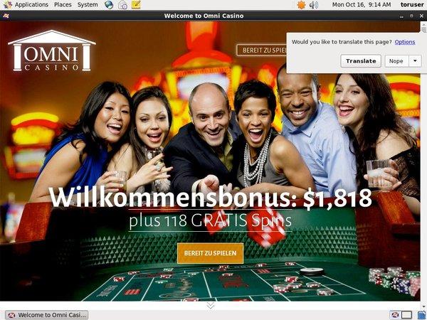 Omni Casino Live Streaming