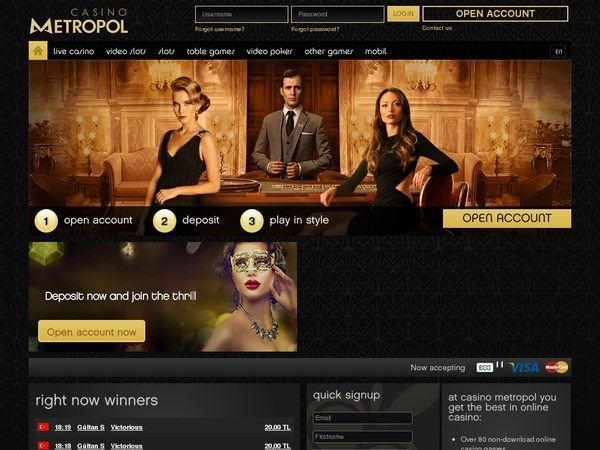Online Casino Casinometropol