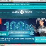 Platin Casino Welcome Bonus No Deposit