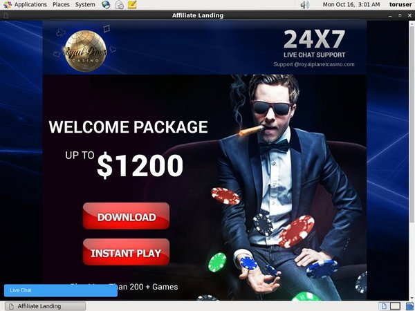 Royalplanetcasino Mobile Betting