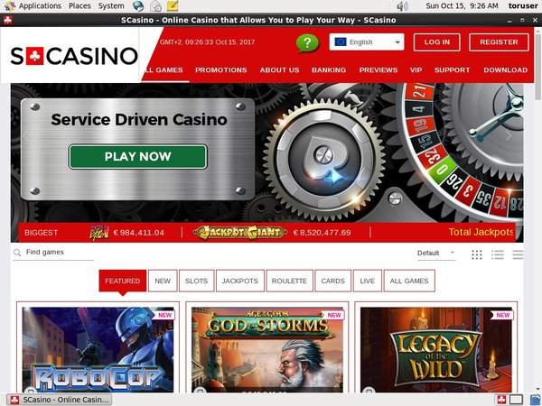S Casino Welcome Bonus Offer