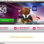 Ted Bingo New Customer Promo