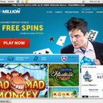Welcome Play Million Bonus
