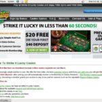 Strike It Lucky Create Account