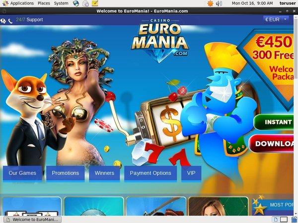 Euro Mania Live Dealer