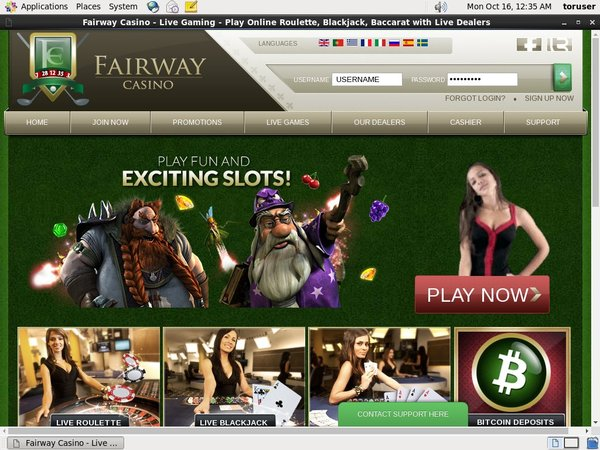 Fairway Casino Transfer Money