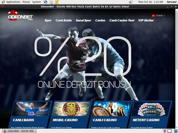 Odeon Bet Web Money
