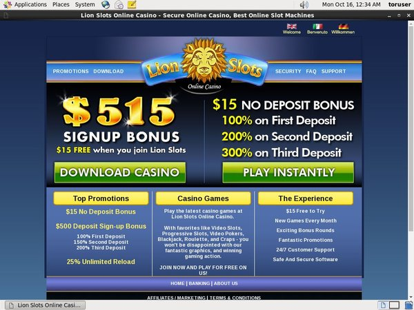 Lion Slots Beste Casinos