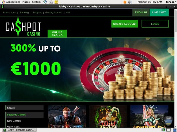 Cashpot Casino Best Online Casino