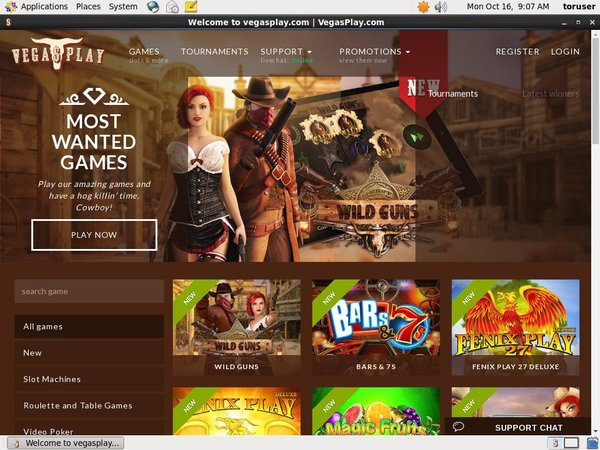 Vegasplay Top Gambling Websites