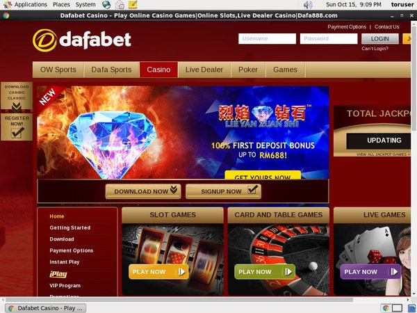 Dafabet Register Bonus