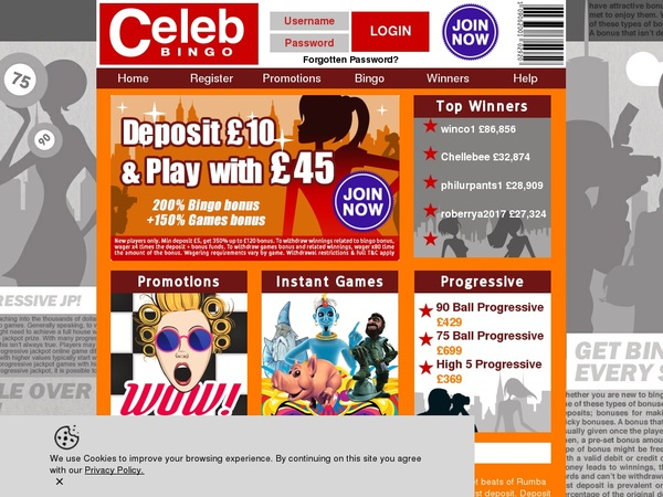 Celebbingo Video Poker