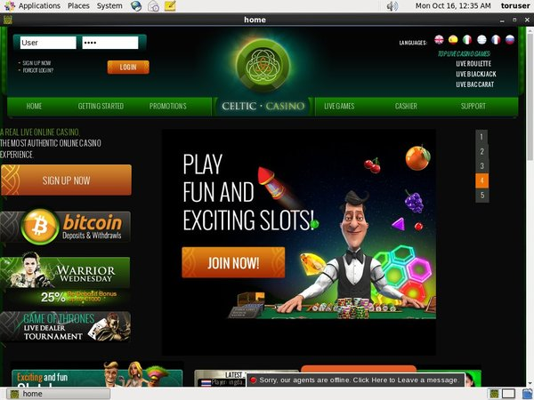 Celtic Casino Promotions 2017