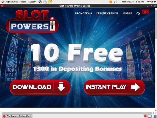 Free Slot Powers Bonus