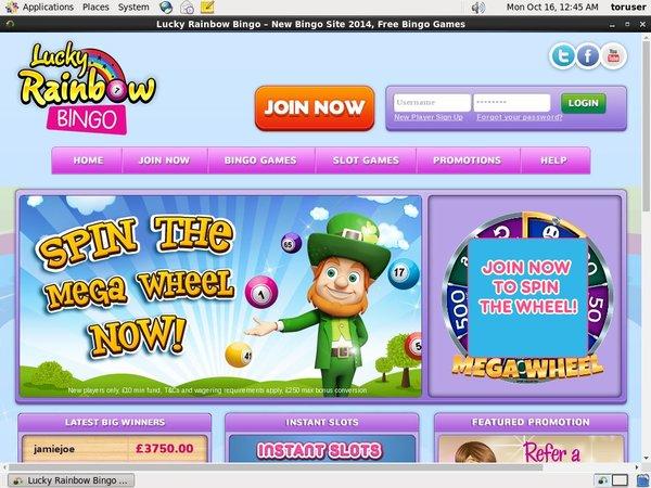 Lucky Rainbow Bingo Best Online Casino