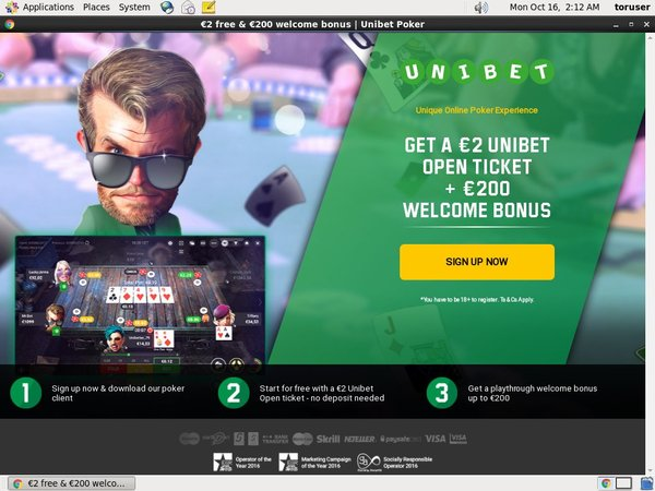 Unibet Joining Offer