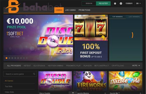 Bahabet Casino Slots