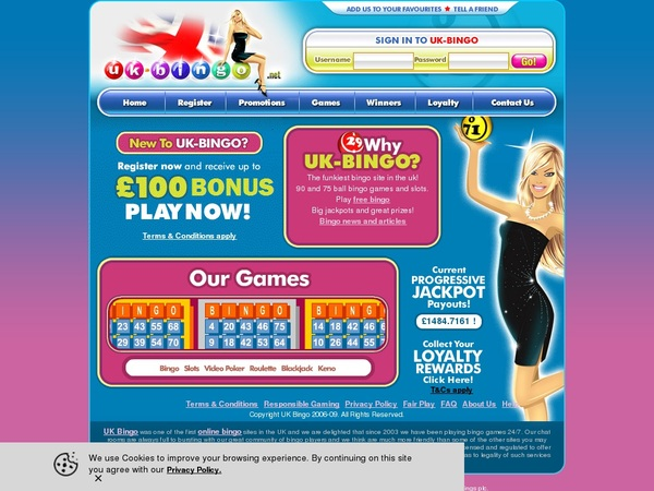 Gratis UK-Bingo