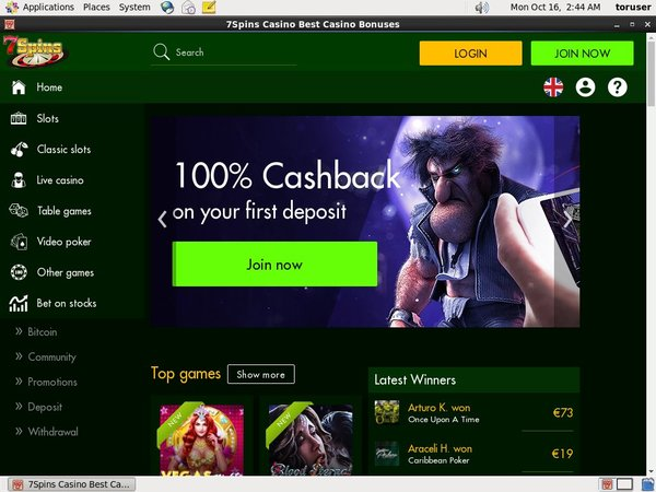 7spins Gambling Sites