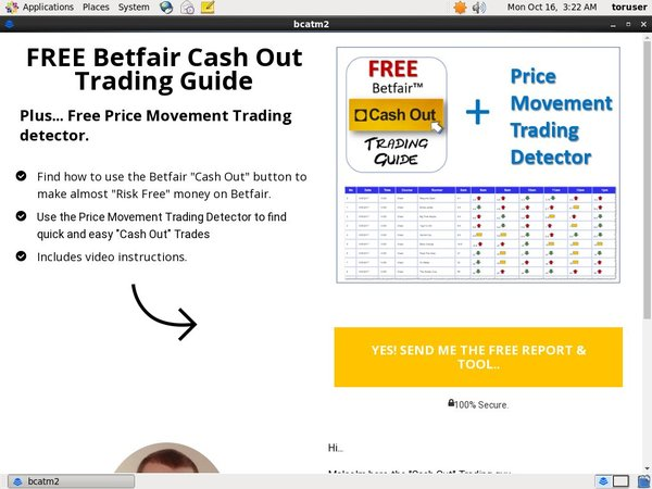 Betfair Cash Out Real Money