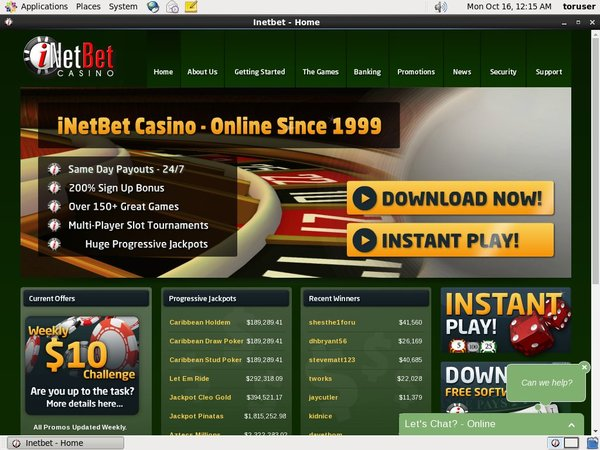 INetBet Casino Forum