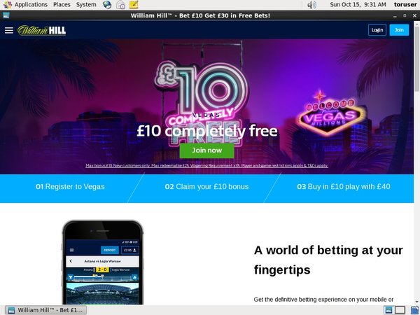 Williamhill Free Coupon