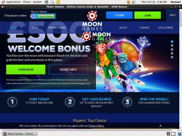 Offers Moon Games