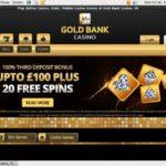 GoldBank Casino Games